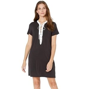 Profile by Gottex Womens Lace Up V-Neck Cover-up